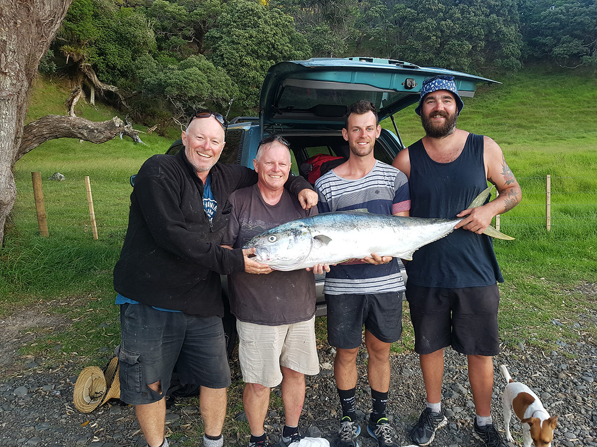 50kg king fish caught at Lottin Point