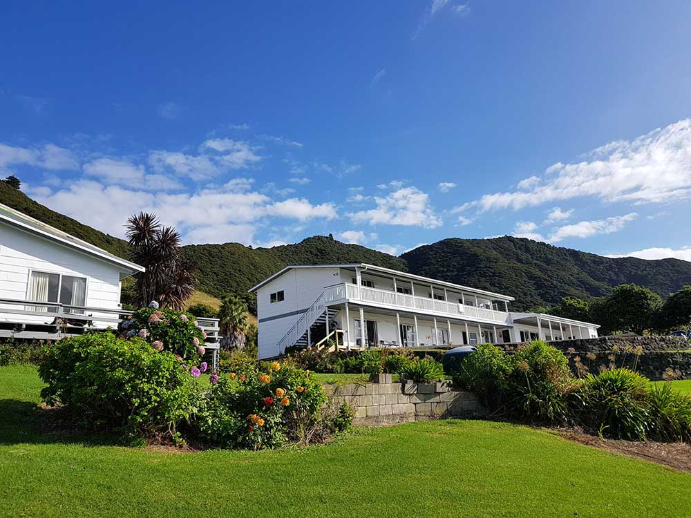 Lottin Point Motel on the East Cape of NZ