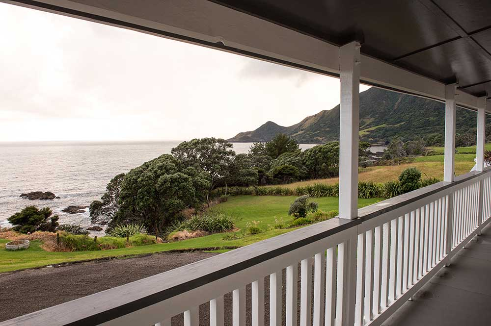 View from Lottin Point Motel - East Cape motels NZ